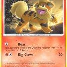 Pokemon Secret Wonders Common Card Growlithe 89/132