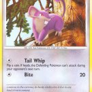 Pokemon Secret Wonders Common Card Rattata 103/132
