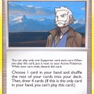 Pokemon Secret Wonders Uncommon Card Professor Rowan 123/132