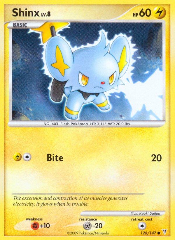 Pokemon Supreme Victors Common Card Shinx 126/147