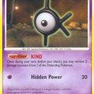 Pokemon Secret Wonders Uncommon Card Unown K 68/132