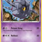 Pokemon Black & White Uncommon Card Whirlipede 53/114