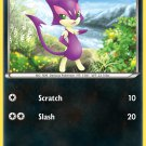 Pokemon Black & White Common Card Purrloin 66/114