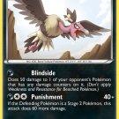 Pokemon Black & White Rare Card Mandibuzz 73/114