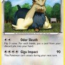 Pokemon Black & White Rare Card Stoutland 83/114