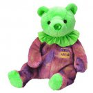 TY Beanie Babies AUGUST the Birthday Bear (MINT with tags)