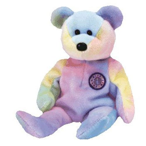 TY Beanie Babies B.B. BEAR the Bear (MINT with tags)