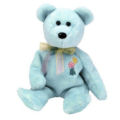 TY Beanie Babies ARIEL the Bear (MINT with tags)
