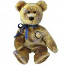 TY Beanie Babies CLUBBY III the Bear (MINT with tags)