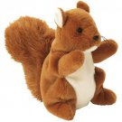 TY Beanie Babies NUTS the Squirrel (MINT with tags)