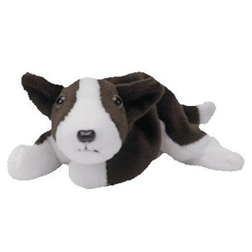 TY Beanie Babies BRUNO the Terrier (MINT with tags)