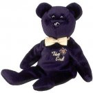 TY Beanie Babies THE END Bear (MINT with tags)