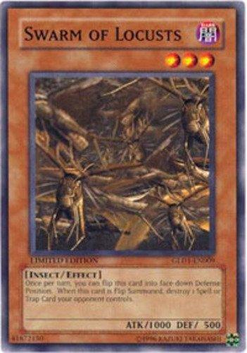Yugioh 2008 Gold Series Single Card Swarm of Locusts GLD1-EN009