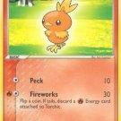 Pokemon EX Ruby & Sapphire Single Card Common Torchic 73/109