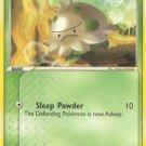 Pokemon EX Ruby & Sapphire Single Card Common Shroomish 69/109