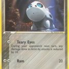 Pokemon EX Ruby & Sapphire Single Card Common Aron 49/109