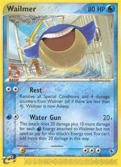 Pokemon EX Ruby & Sapphire Single Card Uncommon Wailmer 48/109