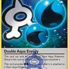 Pokemon Double Crisis Single Card Uncommon Double Aqua Energy 33/34