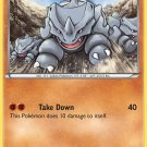 Pokemon Generations Single Card Common Rhyhorn 49/83
