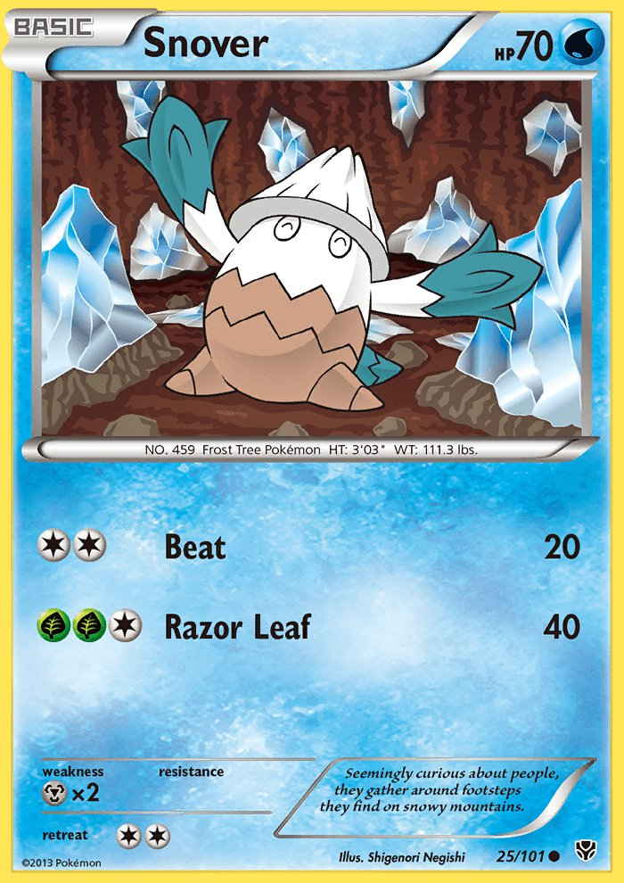 snover black singles Trollandtoad offers a large selection of pokemon singles at great prices view snover - 25/101 - common and other black & white 10: plasma blast singles at trollandtoadcom.
