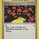 Pokemon Team Rocket Single Card Common Sleep! 79/82
