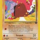 Pokemon Team Rocket Single Card Common Diglett 52/82