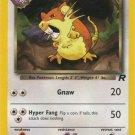 Pokemon Team Rocket Single Card Common Dark Raticate 51/82