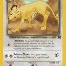 Pokemon Team Rocket Single Card Uncommon Dark Persian 42/82
