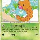 Pokemon HS Unleashed Single Card Common Weedle 69/95