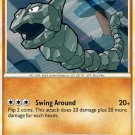 Pokemon HS Unleashed Single Card Common Onix 57/95