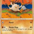 Pokemon HS Unleashed Single Card Common Mankey 53/95