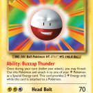 Pokemon XY Evolutions Single Card Rare Electrode 40/108