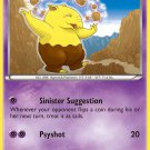 Pokemon XY Furious Fists Single Card Common Drowzee 35/111