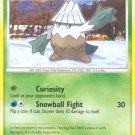 Pokemon D&P Mysterious Treasures Single Card Common Snover 101/123