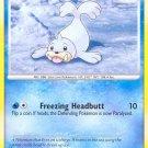 Pokemon D&P Mysterious Treasures Single Card Common Seel 97/123
