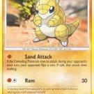 Pokemon D&P Mysterious Treasures Single Card Common Sandshrew 96/123