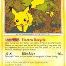 Pokemon D&P Mysterious Treasures Single Card Common Pikachu 94/123
