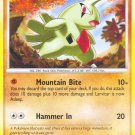 Pokemon D&P Mysterious Treasures Single Card Common Larvitar 87/123
