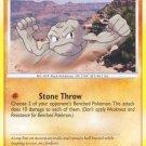 Pokemon D&P Mysterious Treasures Single Card Common Geodude 84/123