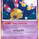 Pokemon D&P Mysterious Treasures Single Card Uncommon Chingling 42/123