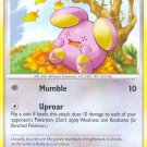 Pokemon D&P Great Encounters Single Card Common Whismur 94/106