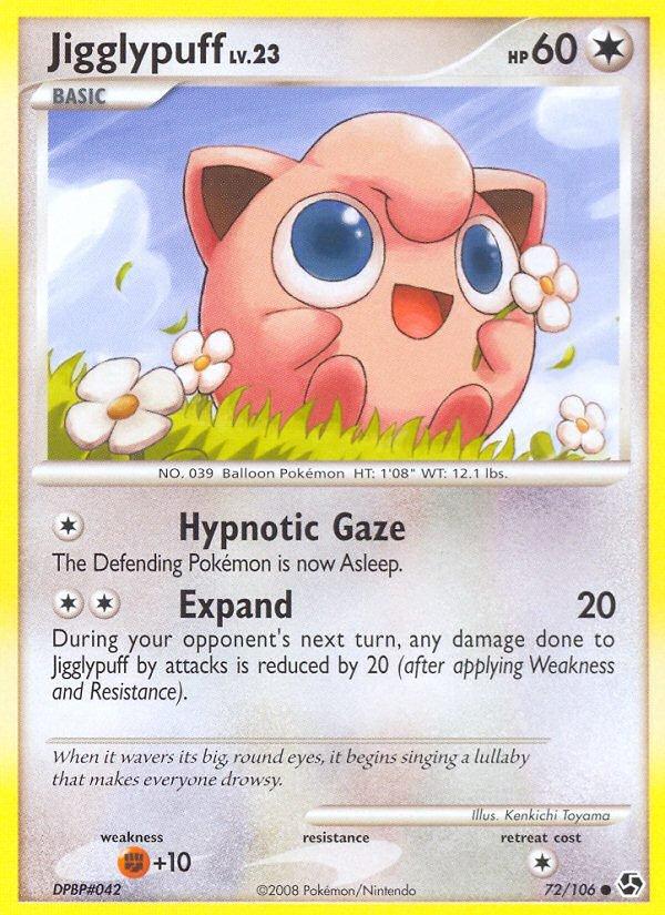 Pokemon D&P Great Encounters Single Card Common Jigglypuff 72/106