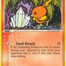 Pokemon EX Crystal Guardians Single Card Common Torchic 66/100