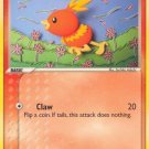 Pokemon EX Crystal Guardians Single Card Common Torchic 65/100
