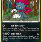Pokemon XY FlashFire Single Card Rare Weavile 52/106