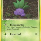 Pokemon EX Hidden Legends Single Card Common Oddish 68/101