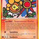Pokemon EX Hidden Legends Single Card Rare Sunny Castform 26/101