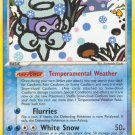Pokemon EX Hidden Legends Single Card Rare Snow-cloud Castform 25/101