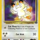 Pokemon Gym Challenge Single Card Common Giovanni's Meowth 74/132