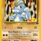 Pokemon Gym Challenge Single Card Common Giovanni's Machop 72/132
